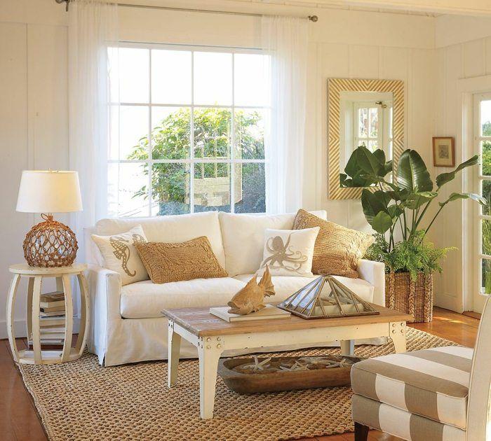 Wohnzimmer im Landhausstil einrichten und passend dekorieren ...