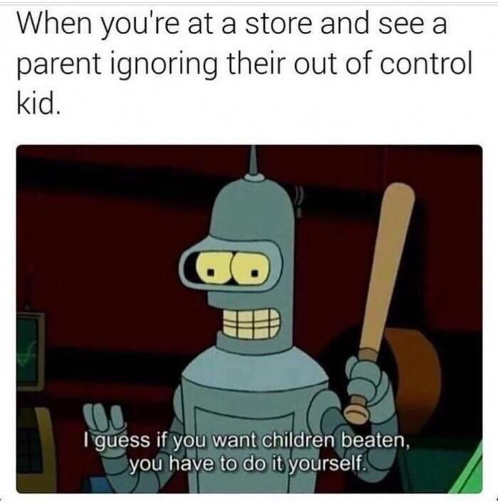 Beat them hard