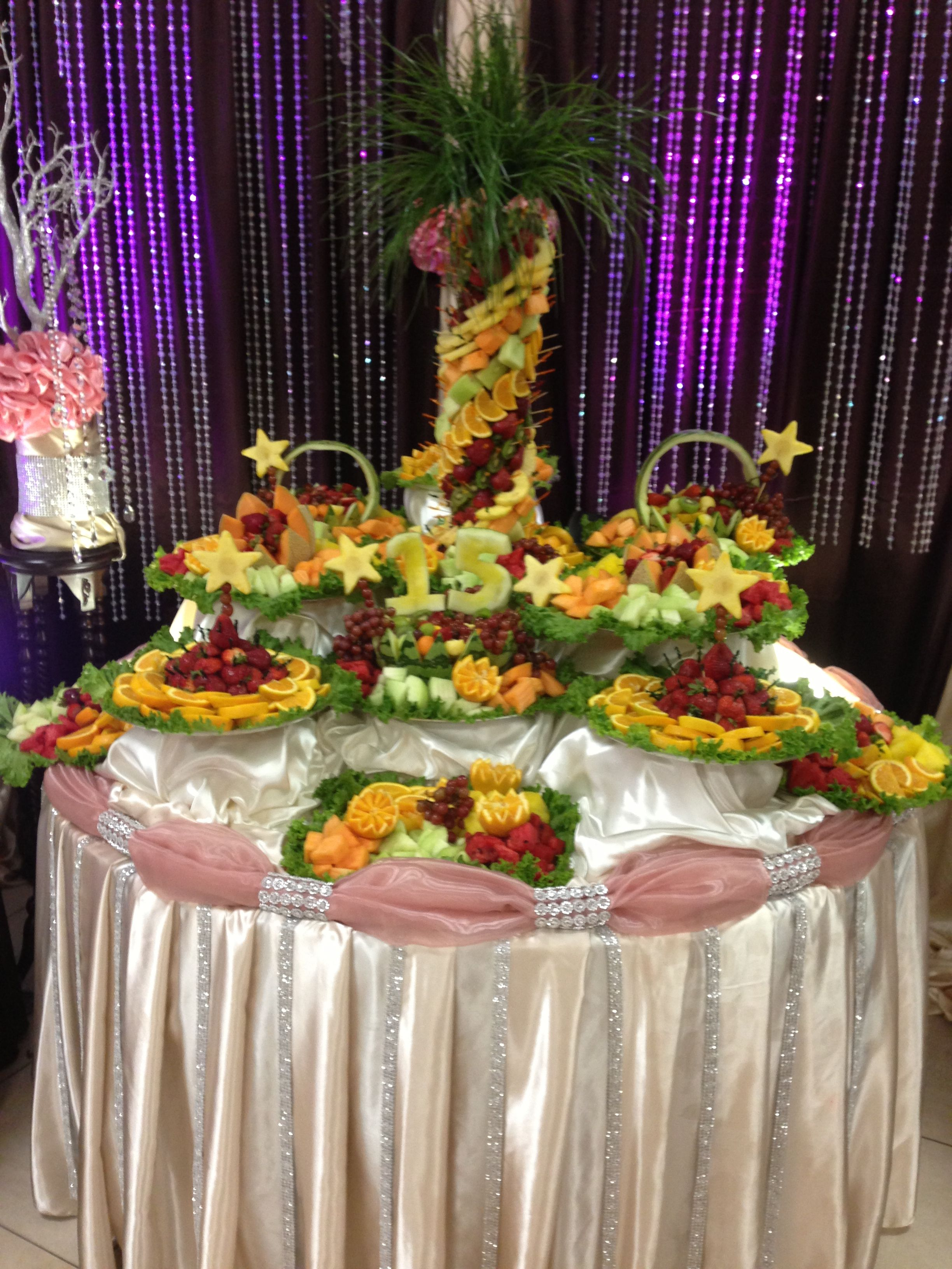15 Party Fruit Table Www Facebook Com