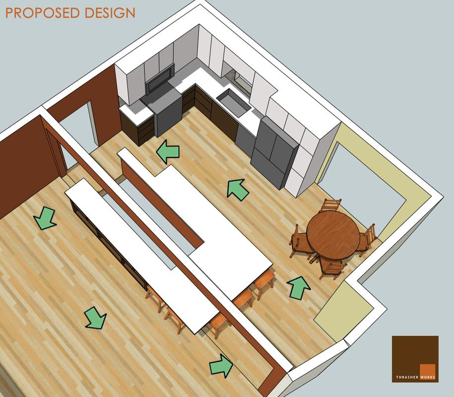 Basement Kitchen Designs Concept all categories - thrasher works   kitchen for me   pinterest