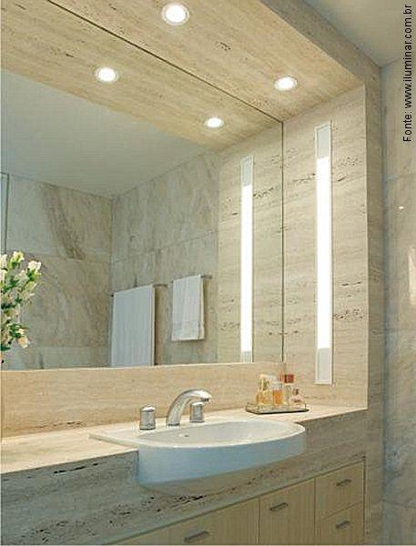 Luz Passeiorevestimentos Iluminacao Banheiro Banheiros Modernos