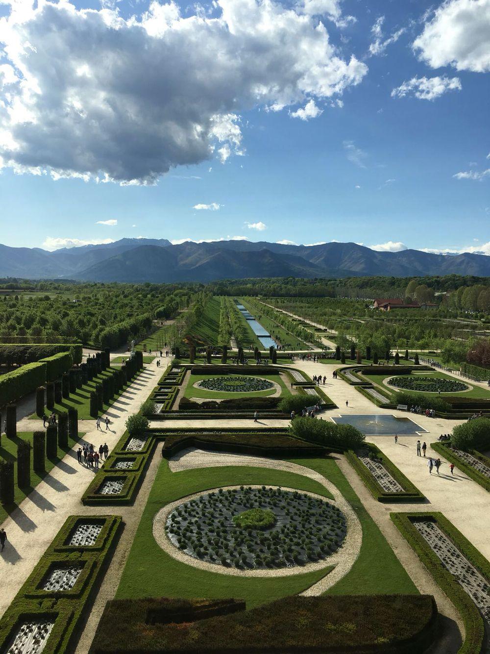 Giardini La Reggia Di Venaria Giardino, Reggio
