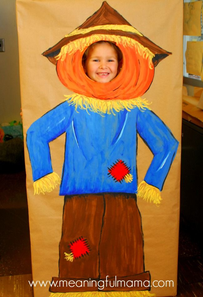 Diy Fall Classroom Decorations ~ Diy photo booth for a harvest party