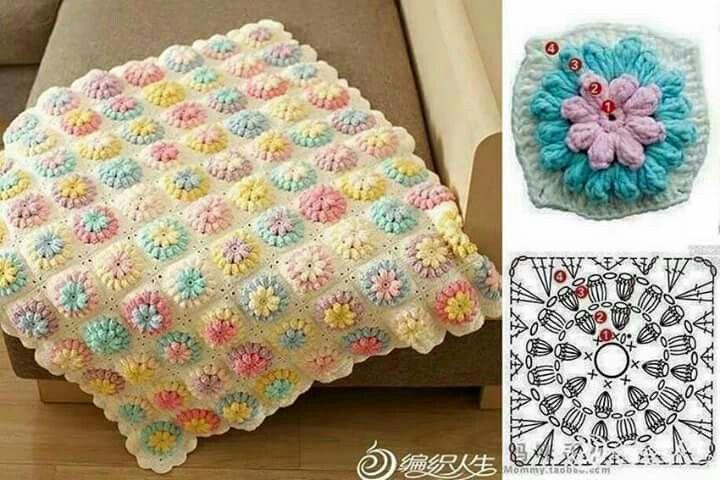Gefunden auf Facebook in der Gruppe Tutorial Crochet