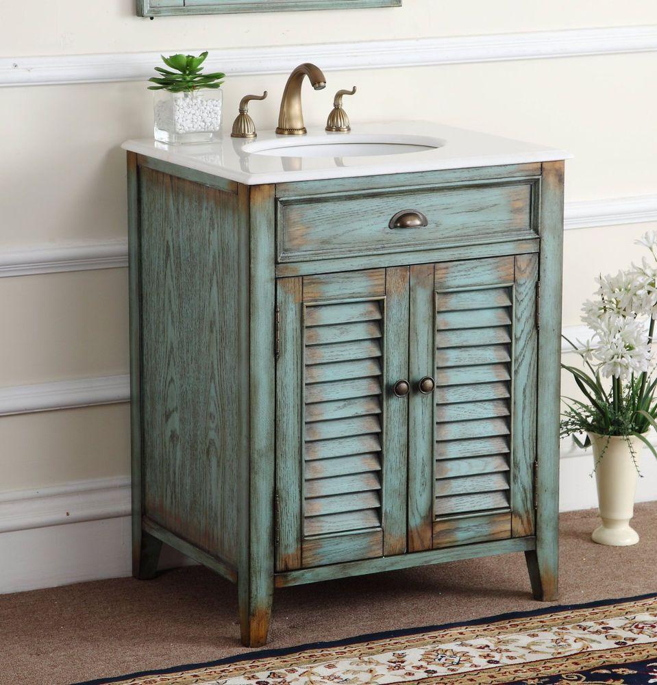 26 Cottage Look Abbeville Bathroom Sink Vanity Model Cf28883bu
