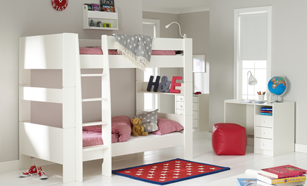 Solitaire White Bunkbed Kids Bedrooms Pinterest Bunk Bed