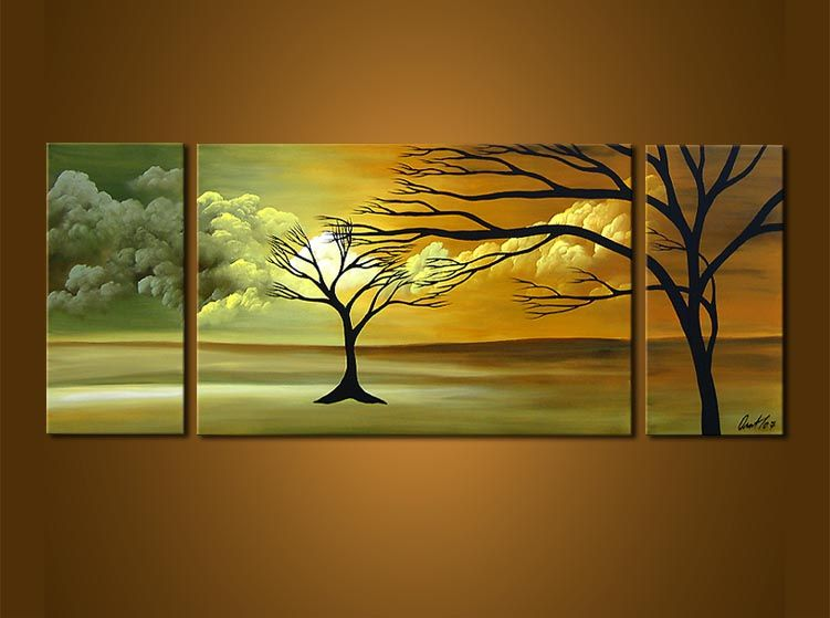 Abstract art by Osnat Tzadok | Triptychs | Pinterest | Landscaping ...