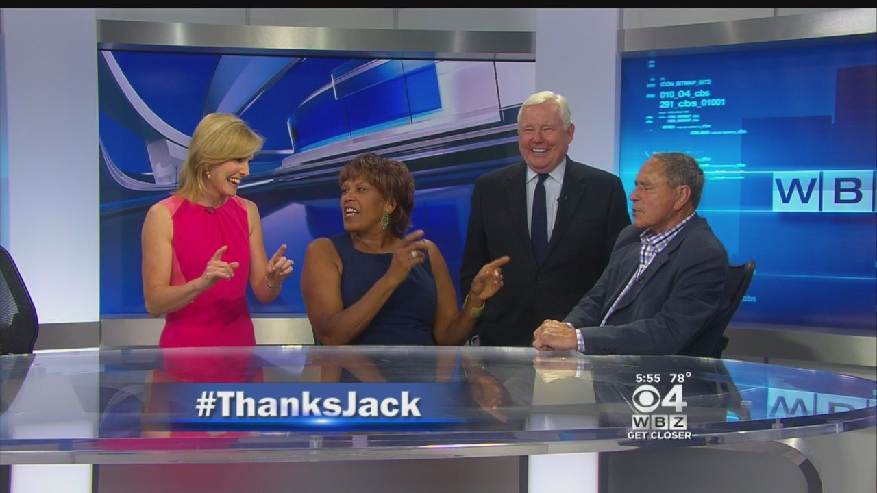 Legendary WBZ Anchor Jack Williams Signs Off For The Final Time