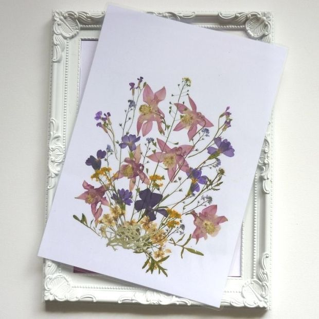 #Pressed #flowers #art gepresste Blumen Kunst Geschenke pro Mama getrocknete Blu…