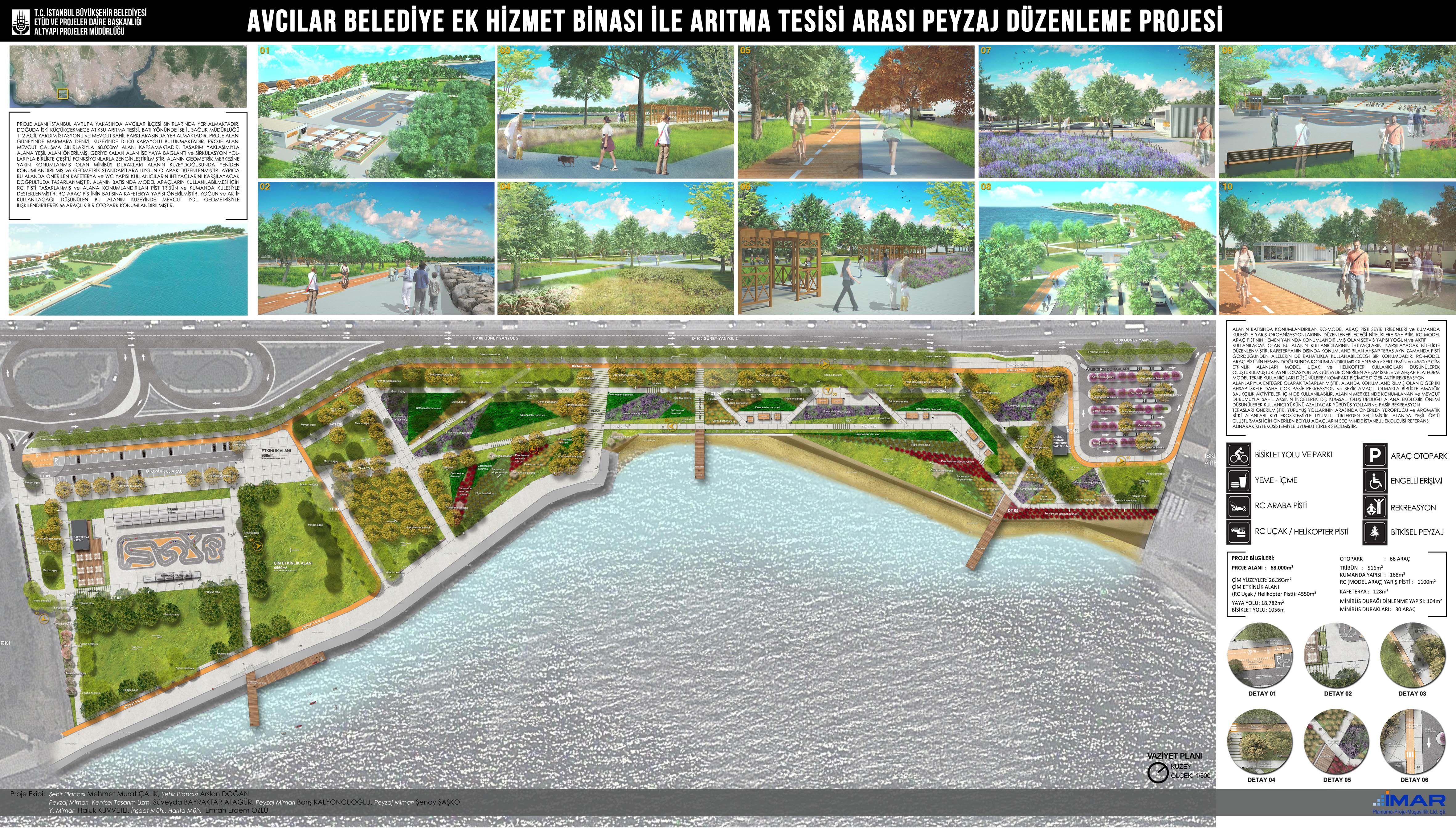 Avcilar Waterfront Landscape Design Project