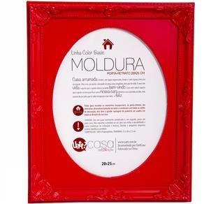 Porta Retrato Moldura 20x25 Vermelho - Vermelho