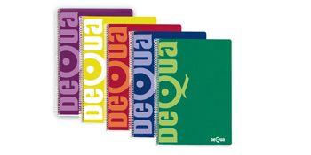 Pack 5 Cuadernos Dequa colores surtidos