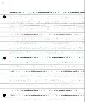 This Paper Has Been Recreated To Look Like Notebook Paper But With