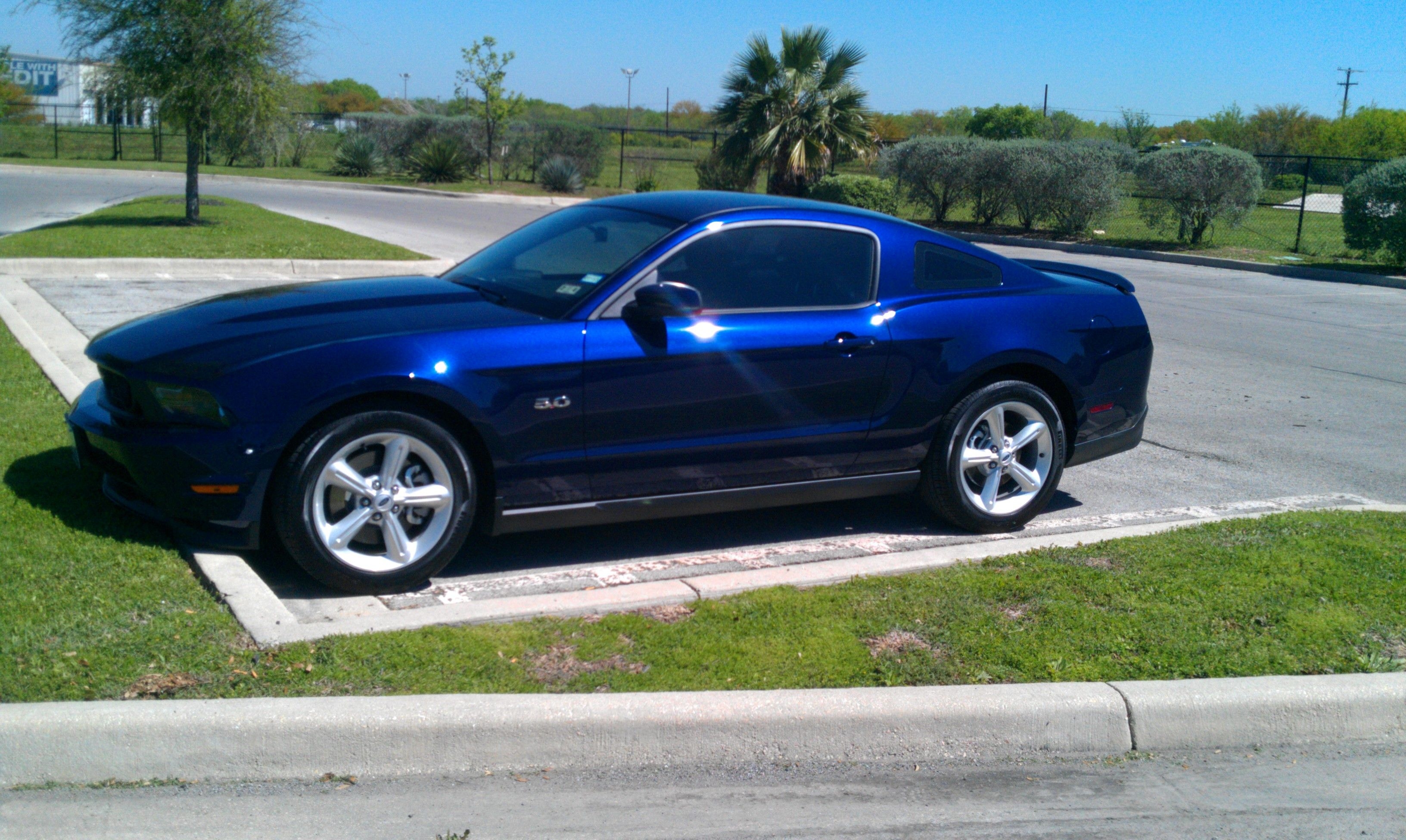 2012 Ford Mustang Gt Kona Blue Base Model Call Her Angelina Added