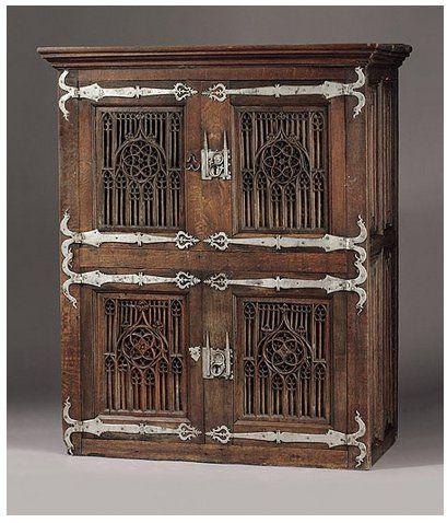 Gotischer Schrank Dortmund 15 Jahrhundert Bei Zeller 2003 Verkauft Renaissance Furniture Baroque Furniture Gothic Furniture
