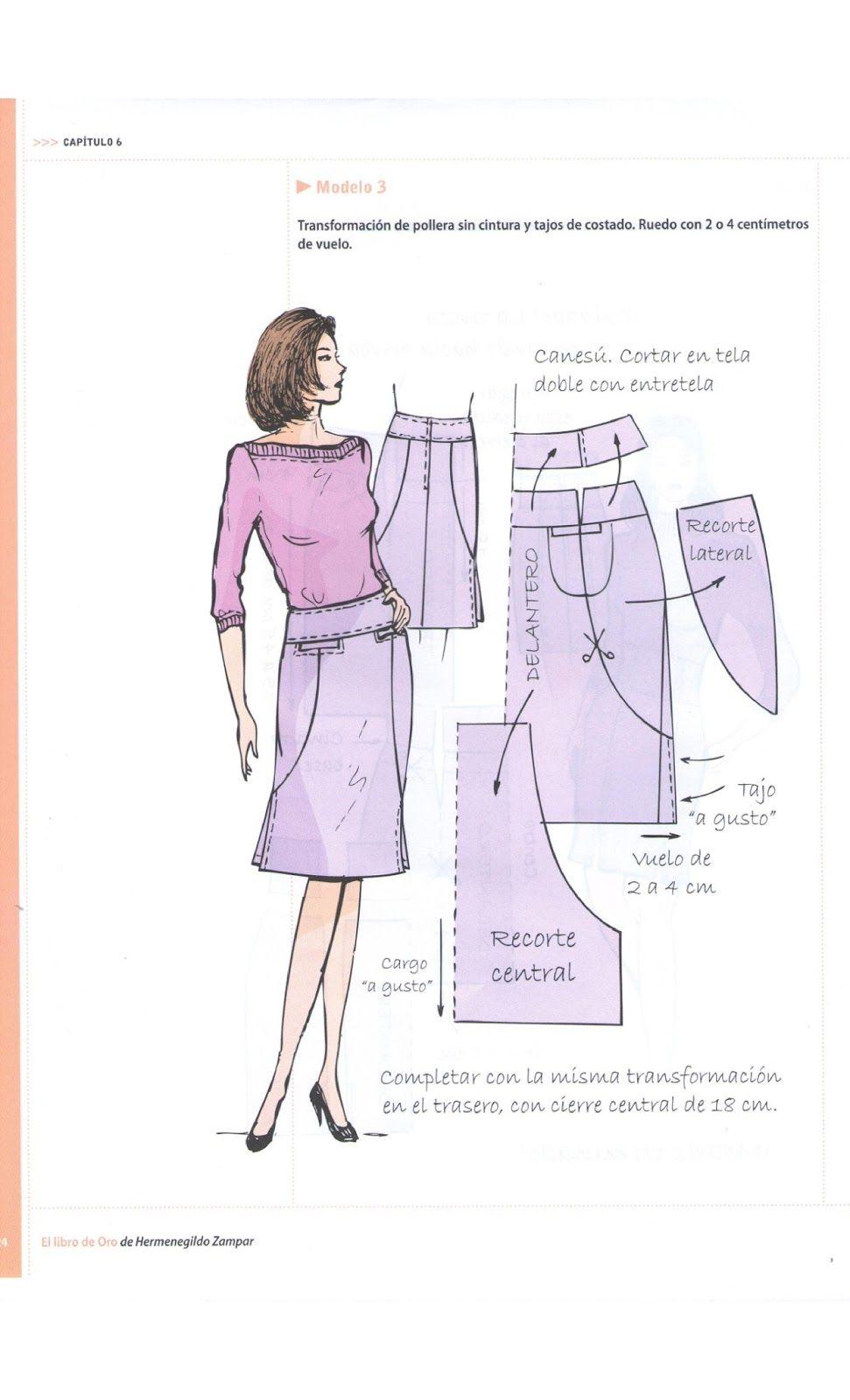 Costura,Patrones y mucho mas | Modelagem vestuário I | Pinterest ...