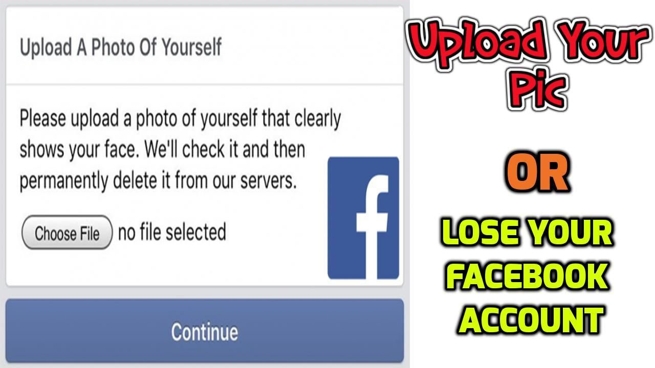 Facebook Picture Identity Verification System Losing you