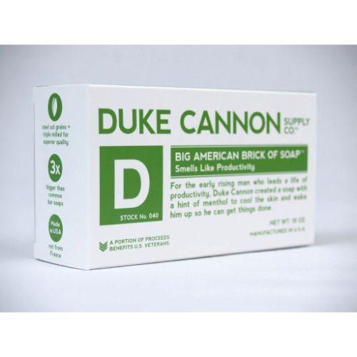 Duke Cannon Big American Brick Of Soap Smells Like Productivity