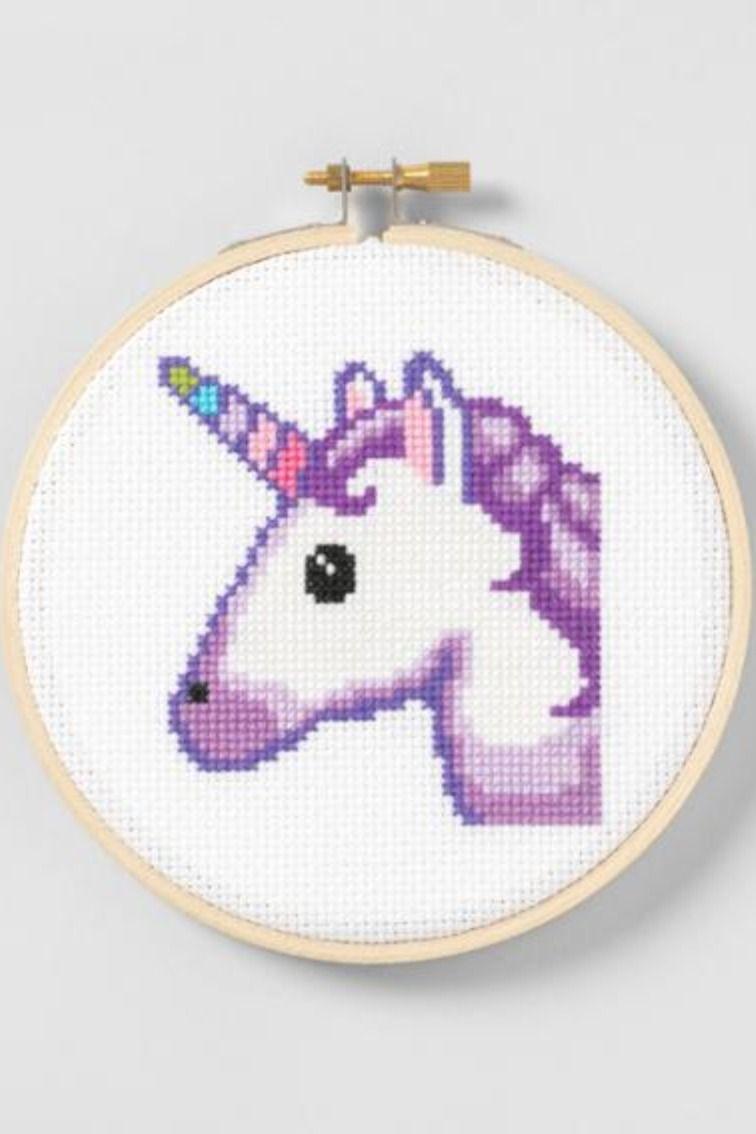 Free Printable Unicorn Cross Stitch Patterns : printable, unicorn, cross, stitch, patterns, Unicorn, Cross, Stitch, Pattern,, Simple, Stitch,, Patterns