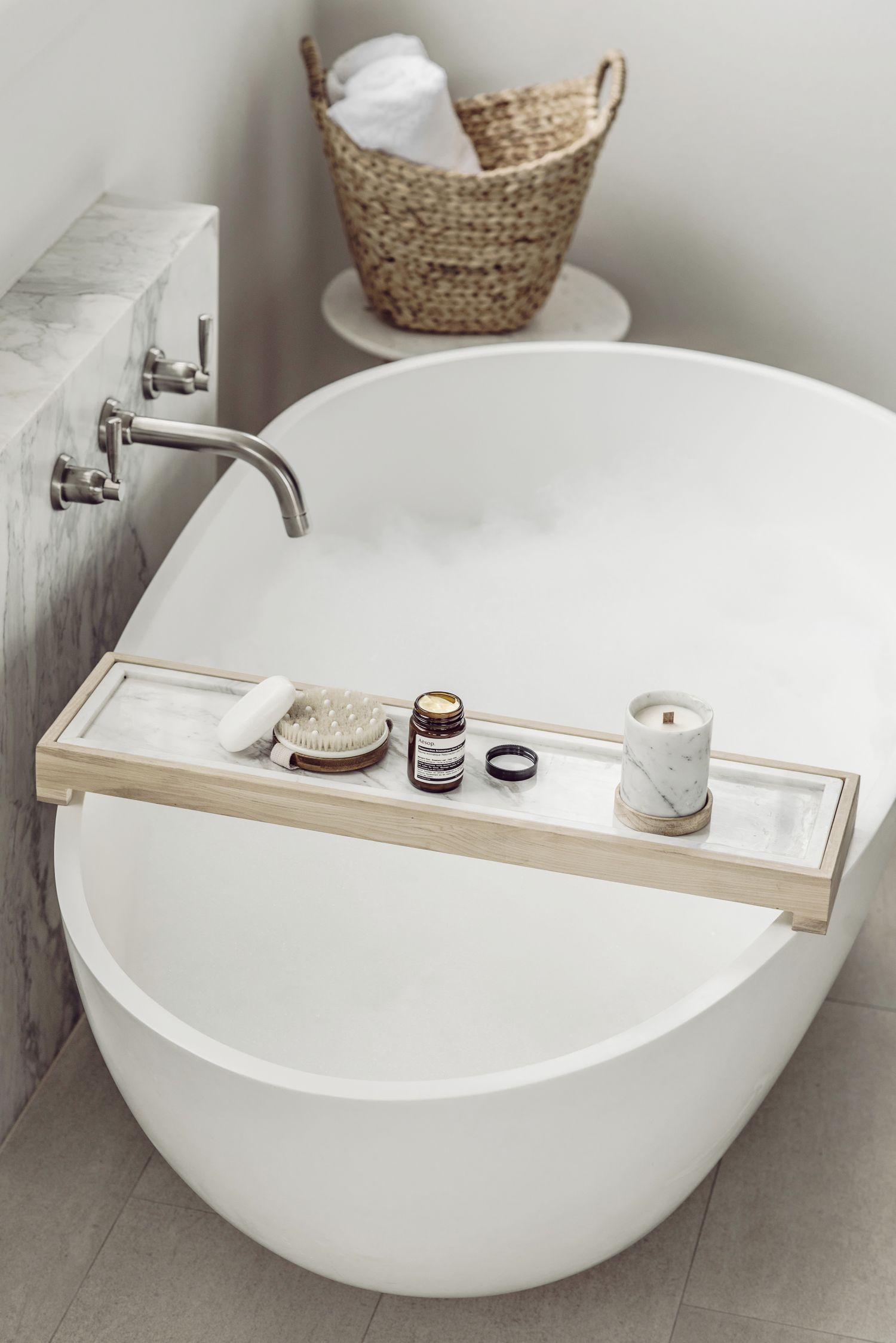 Marble bath caddy... | Home | Pinterest | Bath caddy, Marbles and Bath