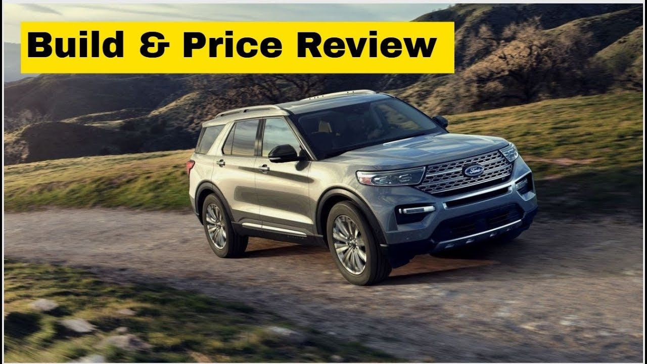 2020 Ford Explorer Limited Build Price Review Like The Outgoing Model The 2020 Ford Explorer Is A Ford Explorer 2020 Ford Explorer Ford Explorer Limited