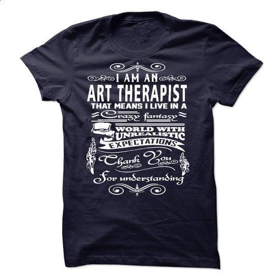 I am an Art Therapist - #hoodies for girls #mens zip up hoodies. PURCHASE NOW => https://www.sunfrog.com/LifeStyle/I-am-an-Art-Therapist-18247367-Guys.html?60505