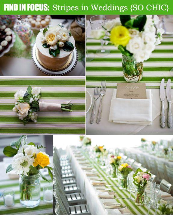 Find In Focus Pattern Your Wedding Chic Stripes