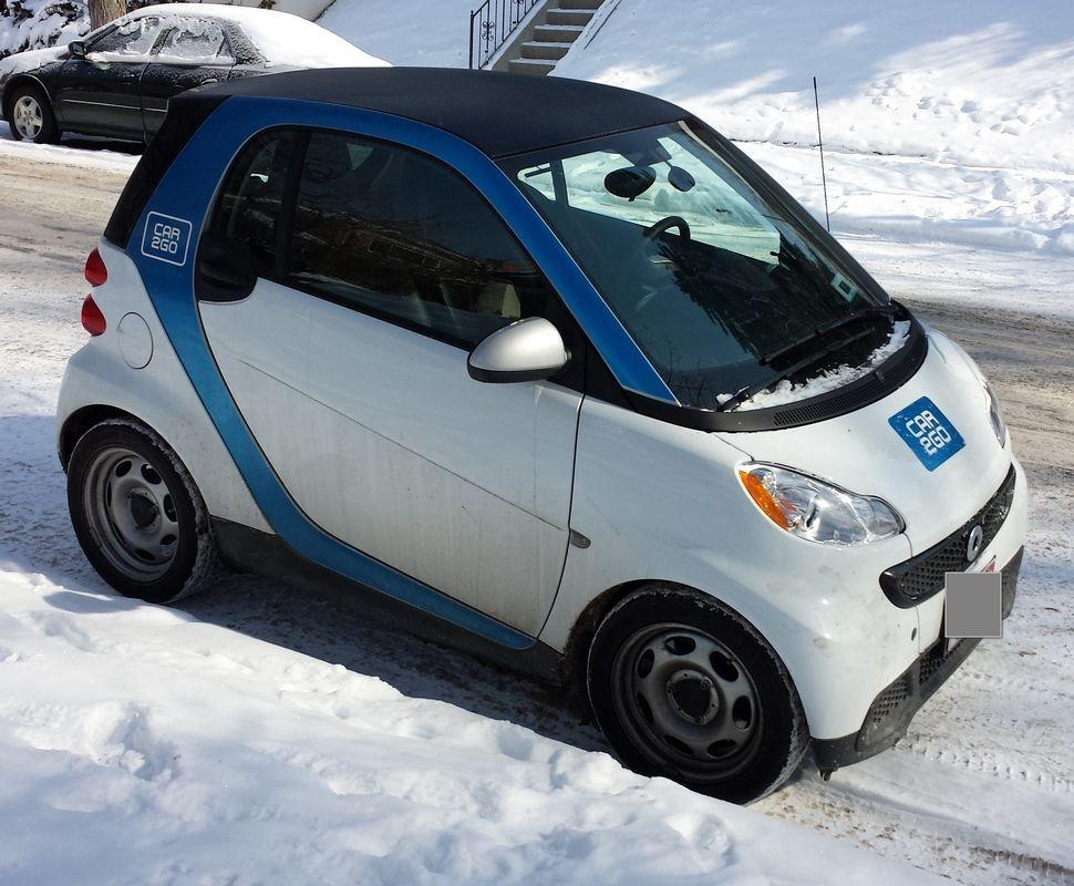 The Little Car2go Smart Car I Drove Car2go Denver Review Denver