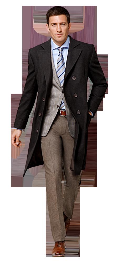 Herren mantel outfit