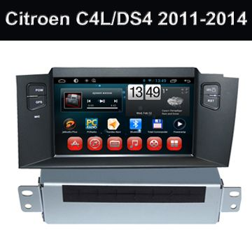 Citroen# C4L/DS4 Android Car Multimedia Player In Car Dvd