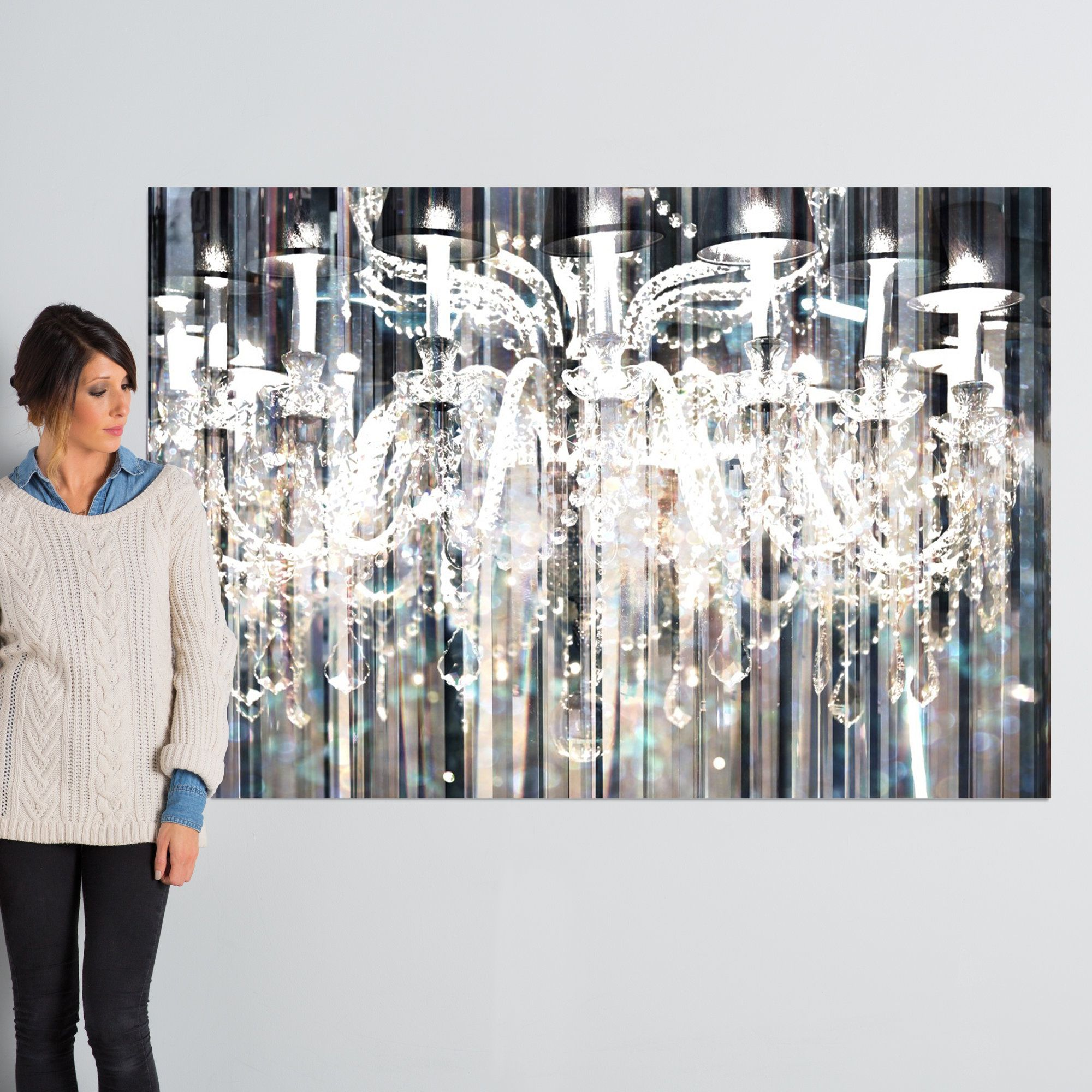 opulent in canvas printed designs p ba chandelier wall direct art x