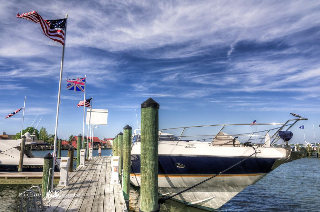 Docks at St Michael's MD St michael, Island, Photography