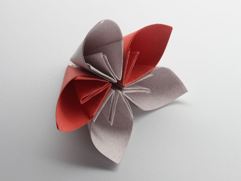 Make A Kusudama Flower Origami Crafts Tutorial Videos Patterns
