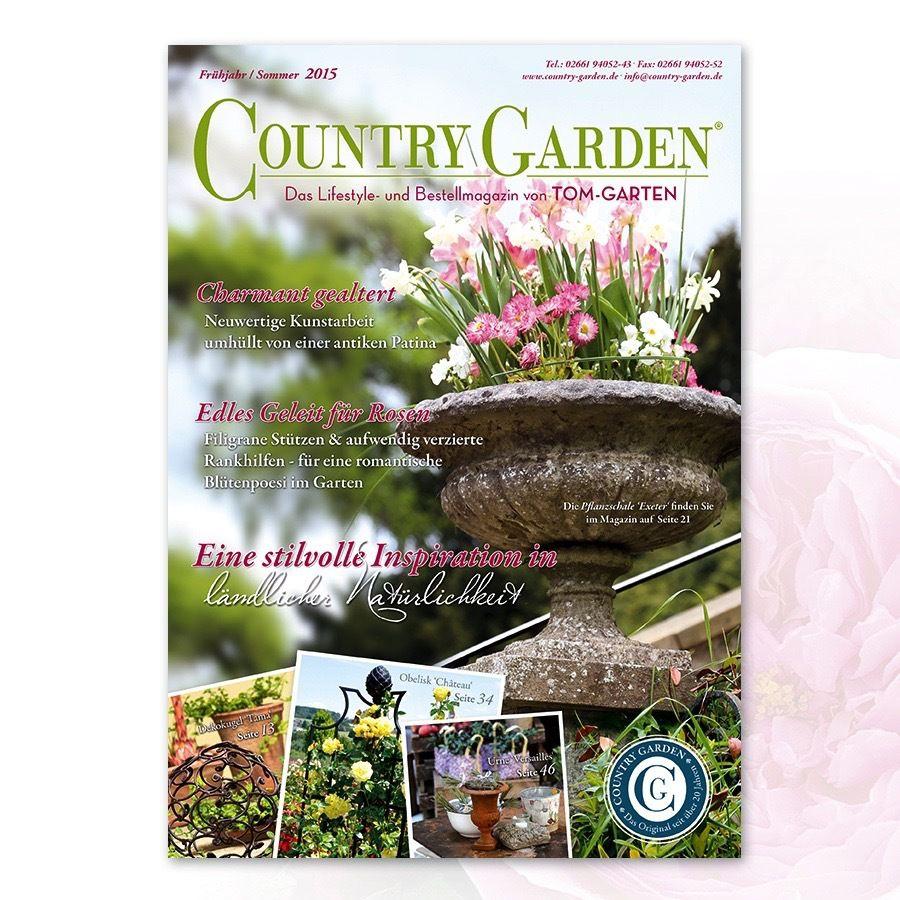 Country Garden Ihr Exklusiver Versand Fur Alles Rund Um Das Thema Gartendekoration Und Wohnaccessoires Im Land Tom Garten Gartendekoration Gartenaccessoires