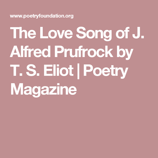 the theme of man and incapacity for decision making in ts elliots poem the love song of j alfred pru The decision of the commission as to the eligibility or otherwise of a candidate for admission to the examination shall be final 12 or (ix) misbehaving in the examination hall including tearing of the scripts or (iii) procuring impersonation by any person.