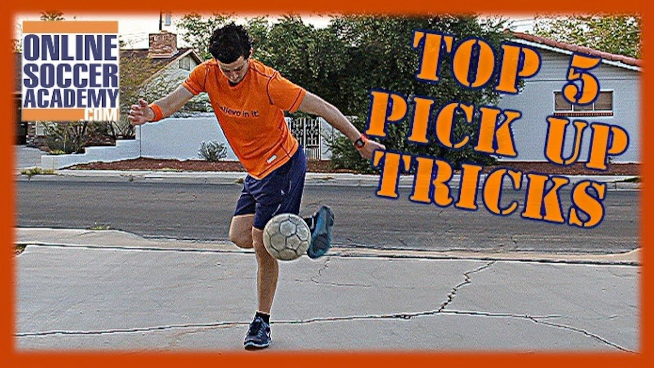 Top 5 Juggling Pick Up Tricks! - Online Soccer Academy