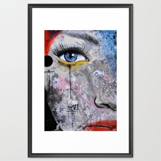 the wheels of dreaming Framed Art Print