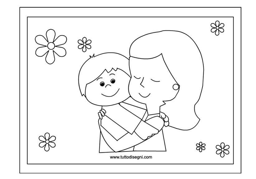 Guarda Tutti I Disegni Da Colorare Per La Festa Della Mamma Www