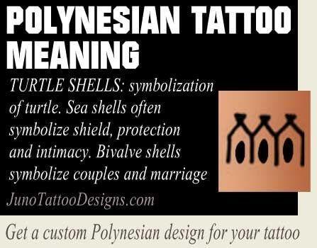 Turtle Shells Polynesian Symbol Meaning Junotattoodesigns