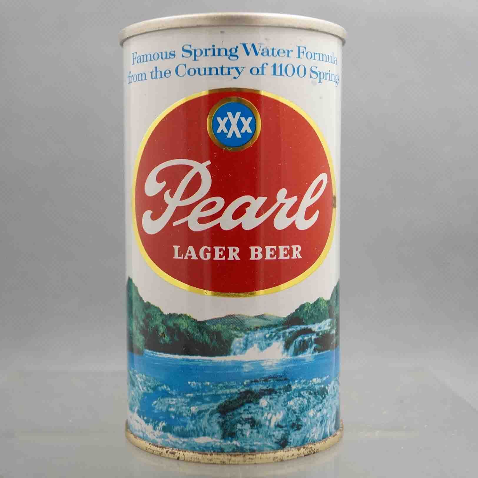Pearl Lager 112 33 Flat Top Beercan Retro Beer Labels Old Beer Cans Lager