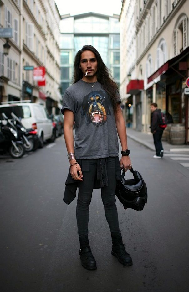 Look Estilo Rock Masculino MAN Pinterest Estilo rock, Moda