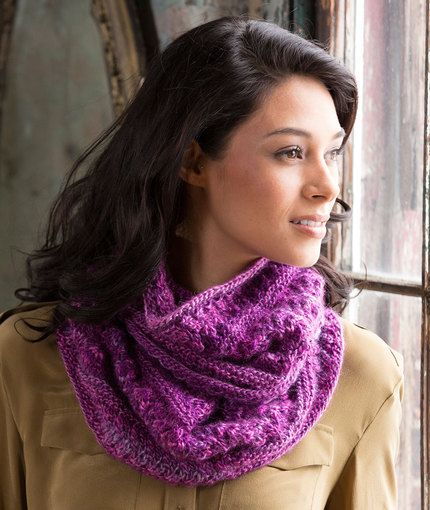 Adore This Lacy Cowl Free Knitting Pattern In Red Heart Boutique