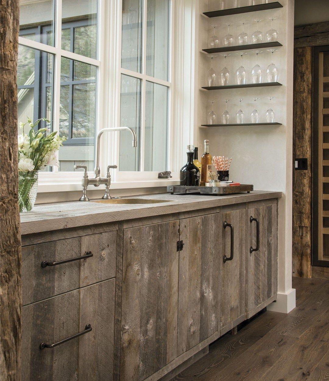Amazing Rustic Mountain Farmhouse Decorating Ideas | Barn ...