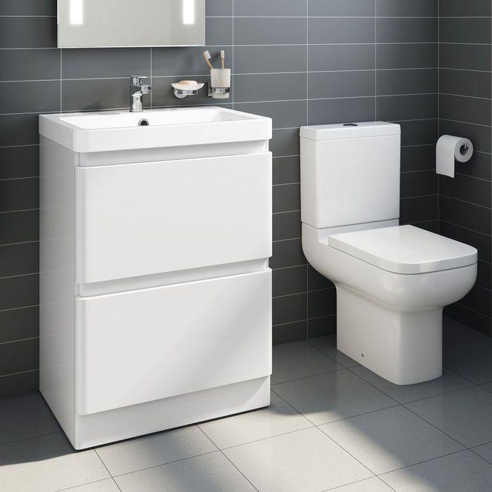 £311.99 Short Projection Toilet & 600mm Denver II Floor