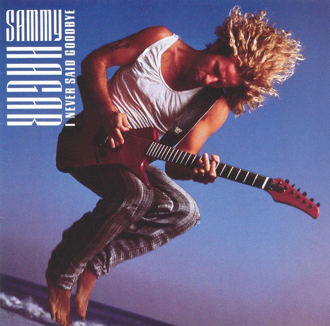 Sammy Hagar I Never Said Goodbye Photography By Annie Leibovitz Sammy Hagar Vinyl Records Said Goodbye