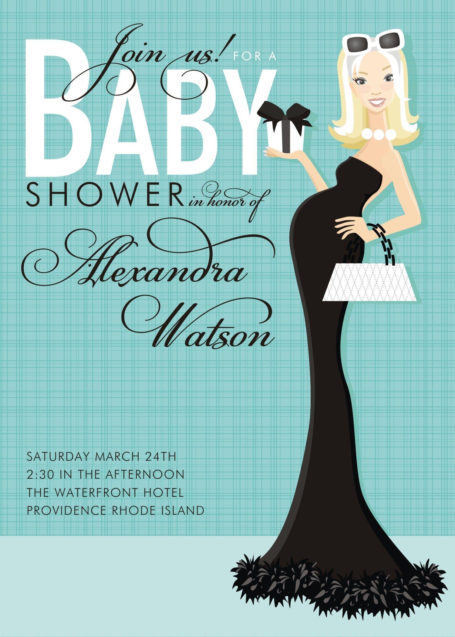 classic baby invitations - Doc Milo: Invitations/Announcements, Baby ...