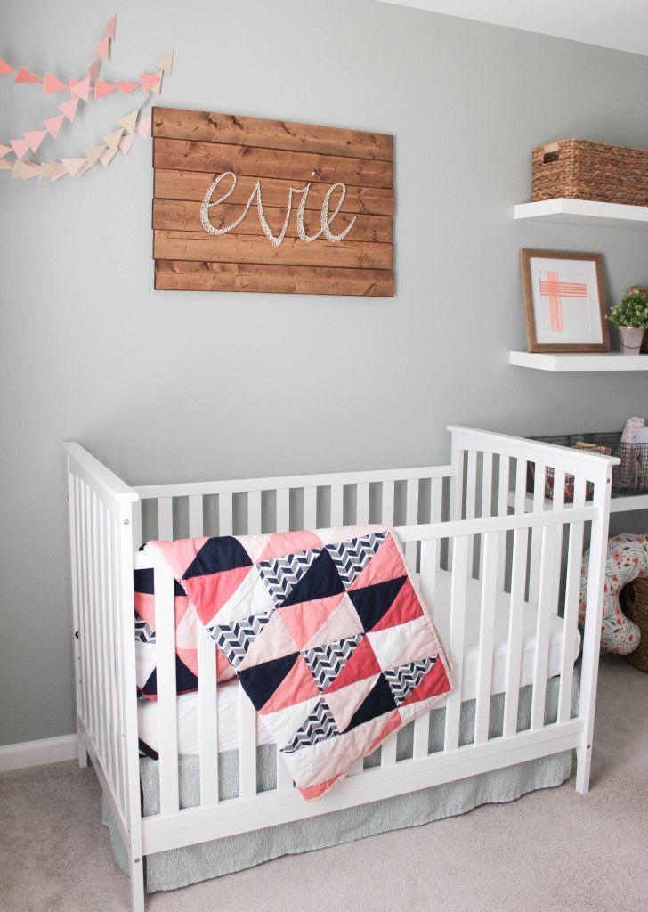 Baby Girl Nursery Ideas Not Pink nursery | glam | girl | girly | not so much pink | baby girl