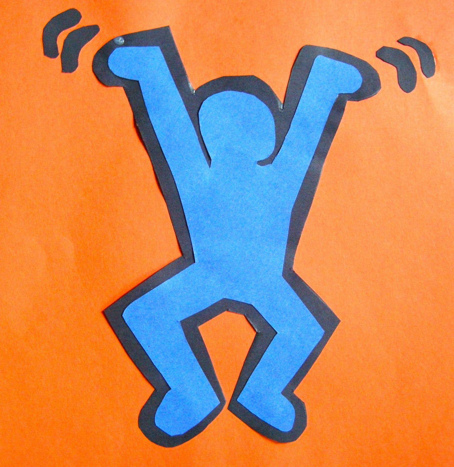 3rd Grade Keith Haring Group Project And Individual