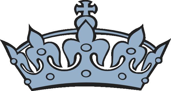blue crown clip art at clker com vector clip art online royalty rh pinterest co uk pink princess crown clipart