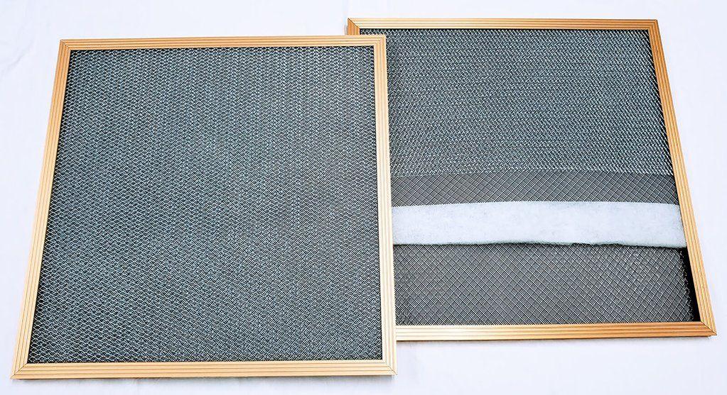 Electrostatic Air Filter Gold Electrostatic air filter